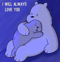 Tag somebody you would always love Polar Bear Cartoon, Cute Polar Bear, Ice Bear We Bare Bears, We Bear, Unicorn Wallpaper Cute, Bear Wallpaper, Panda Love, Cute Panda, We Bare Bears Wallpapers