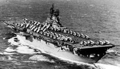 American Aircraft Carriers, Essex Class, Uss Intrepid, Navy Carriers, Navy Life, United States Navy, Us Navy, Battleship, Usmc