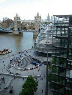 Vistas desde Torre Bridge. Londres