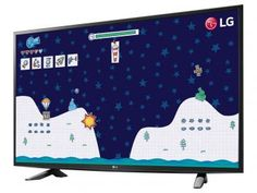 "TV LED 43"" LG Full HD 43LH5150 - Conversor Digital 1 HDMI 1 USB"