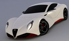 Alfa Romero 6C Cuore Sportivo Concept http://autoprosusa.com/