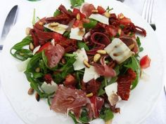 assiette salade italienne site