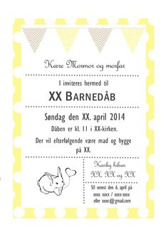 invitation barnedåb påske Hobby, Baby Time, Place Cards, Scrap, Good Things, Inspiration, Children, Tips, Party