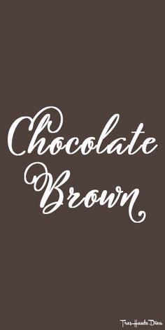 #Pantone #Chocolate Brown ♔ Très Haute Diva Brown Style, Lip Art, Chocolate Truffles, Brown Fashion, Pantone, Diva, Eye Makeup, Shades, Eyes