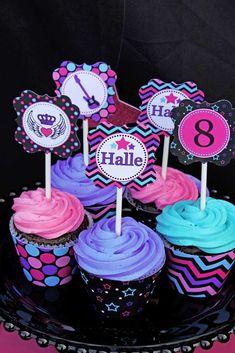 Rock Star Birthday Birthday Party Ideas   Photo 10 of 38   Catch My Party