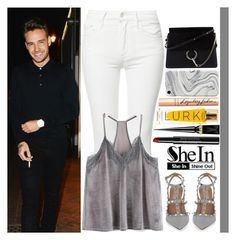 """""""With Liam Payne"""" by angelbrubisc ❤ liked on Polyvore featuring Zimmermann, Linda Farrow, Mother, Valentino, Chanel, Christian Louboutin, Charlotte Tilbury, Recover and Chloé"""