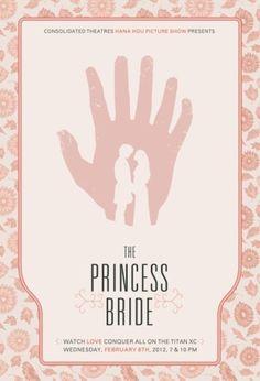 THE PRINCESS BRIDE minimalist poster