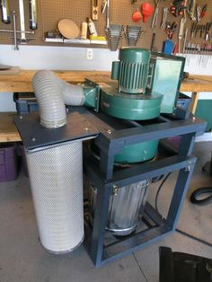Improved two stage dust collector mod - by Praedo @ LumberJocks.com ~ woodworking community