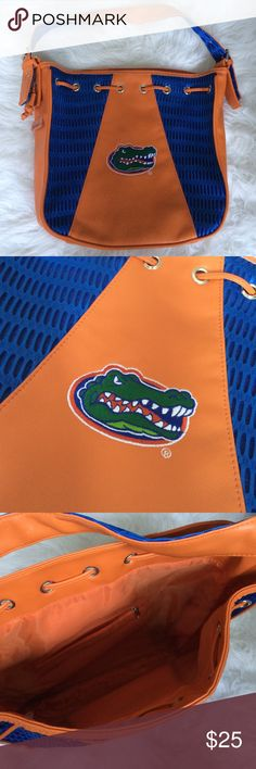 Florida Gators 🐊 Alan Stuart bag Large purse for gameday or class! Lots of room on the inside, one zippered interior compartment. Bags