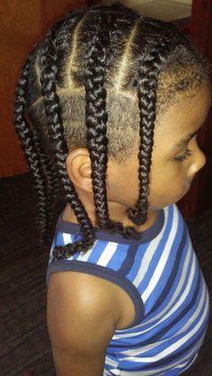 boy with mini braids mixed boys