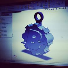 CAD Modeling & 3D printing our logo as a Keychain! #rapidprototyping #prototyping #product #productdevelopment #productdesign #newproduct #rtvtooling #injectionmolding #cncmachining #siliconemolding #prototype #sampleparts #preproduction #california #tijuana #tecate #sandiego #mexicali #ensenada #losangeles #sanfrancisco #gadget #polyjet #lowvolume #stereolithography #masterpattern #industrialdesign #brecherprototyping #3dprinting #urethanecasting by brechermfg