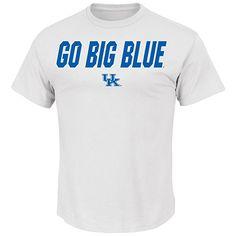 NCAA University of Kentucky Men's Big Ambition Crew Neck Tee, White, Large #KentuckyBasketball #bbn #kentuckybball #UofK #uk #marchmadness #ncaatourney #universityofKentucky