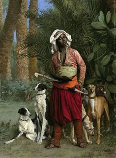 Jean-Léon Gérôme - The Master of the Hounds by Gandalf's Gallery on Flickr.