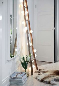 ladder is good - hesitant with xmas lights but like the sizing
