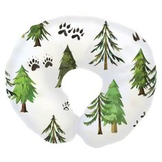 We're loving our exclusive Woodland Trees print in a fun boppy cover with a super soft minky back. Our Woodland Trees Nursing Pillow Cover is the perfect gift!