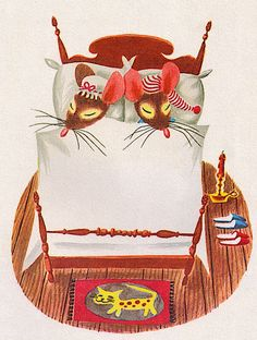 Mouse's House - illustrated by Richard Scarry (1949)