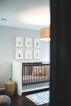 Adorable gender neutral nursery | Photography: Renee Dickerson - www.reneehollingshead.com Read More: http://www.stylemepretty.com/living/2014/09/16/modern-safari-nursery/