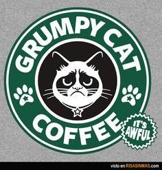 Grumpy Cat Coffee...