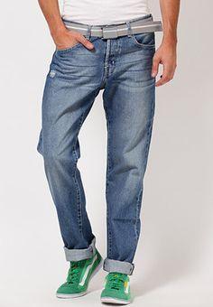 Fashion Designer Super Skinny Jeans With Web Jeans Washed Light Blue Regular Fit Jeans  Shop online - http://dealsothon.com/men/Jeans/Web-Washed-Light-Blue-Fit-Jeans