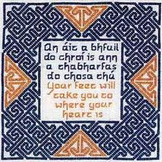Where Your Heart Is Cross Stitch Pattern