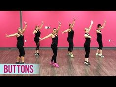 The Pussycat Dolls – Buttons ft. Snoop Dogg (Dance Fitness with Jessica) Video Description Here's a new dance fitness workout to « Buttons Zumba Fitness, Dance Fitness, Zumba Workout Videos, Zumba Videos, Dance Videos, Dance Workouts, The Pussycat, Pussycat Dolls, Zumba Routines