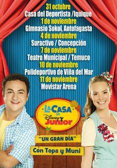 La Casa de Disney con Topa y Muni - 31 de octubre al 11 de noviembre