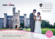 My Wonderful Welsh Wedding - Home of the Wedding Guild of Wales in association with Hensol Castle Summer Wedding Showcase 2016. Thursday 19th May 2016 from 5pm to 8.30pm. 35 Wedding suppliers, all members of the Wedding Guild of Wales. I will be participating, displaying & Bagpiping throughout the event. See you there :-) #SouthWales #Bagpipes