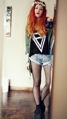 Dip Dye Red Inspiration this is what way I want my hair dip dyed, #lovebeingaredhead