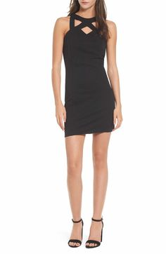 Main Image - Speechless Strappy Body-Con Dress