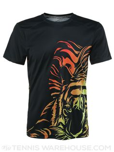 Solfire Men's Wild Tiger Crew in Black