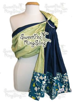 Sparrow - SweetPea Ring Slings™ - love these slings. The tail has a zippered pocket, perfect for toting phone/money/burp cloth on a walk.