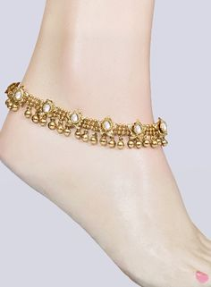 Indian traditional Jewellery -Anklet