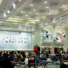 nothing beats a 3 story forever 21 haha!