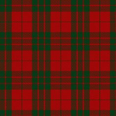 Tartan 2018 A5 DIARY Scottish Pride Red Blue or Green  YEAR PLANNER Week to View