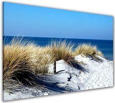 Bilder manufaktur leinwandbilder kunstdruck wandbild bild bilder 7730 1 strand sand - Fliesenaufkleber gras ...