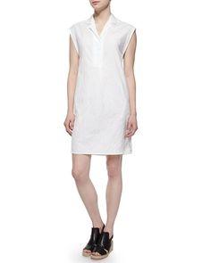 TA0VK Rag & Bone Baron Short-Sleeve Dress