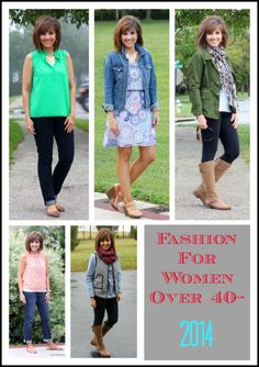 Here's my 2014 year in review of my outfits for women over 40.