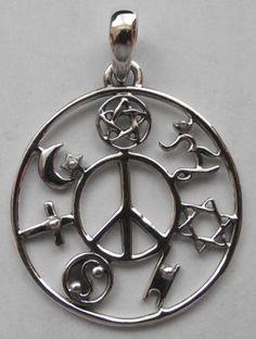Coexist pendant coexist necklace peace sign necklace peace want it aloadofball Gallery