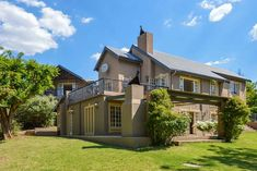 San Rock Guest House - Clarens Accommodation. Built In Braai, Comfortable Couch, Free State, Underfloor Heating, Open Plan Kitchen, Guest Suite, Outdoor Areas, Maine House, Double Doors