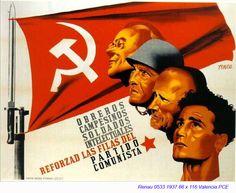 Spain - 1937. - GC - poster - Josep Renau