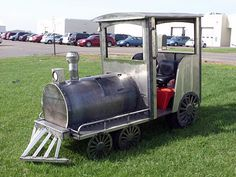 Barrel Projects, Welding Projects, Simplicity Lawn Mower, Karting, Barrel Train, Preschool Garden, Trains For Sale, Kids Bicycle, Train Engines