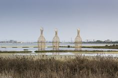 Roger Rigorth, 'Water Core', 2015. Installation view in the Cheng Long Wetlands. Photo: Timothy S. Allen. Image courtesy Cheng Long Wetlands International Environmental Art Project.