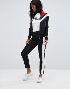 0d9b23dc305d Get this Fila s track trousers now! Click for more details. Worldwide  shipping. Fila