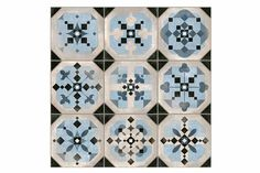 A beautiful collection of patterned floor or wall tiles.Perfect for creating a statement hallway, kitchen or conservatory. Named after some of the UK's most captivating stately homes, these tiles are sure add a little opulence to any space!