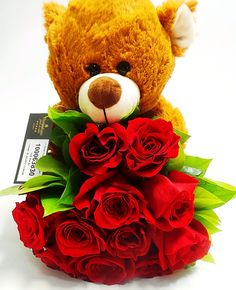 Gifs, Teddy Bear, Valentines, San, Animals, Valentine's Day Diy, Animales, Animaux, Teddybear