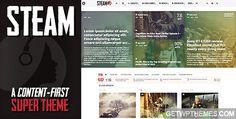 Steam 1.0 – Themeforest Free WordPress Theme Download
