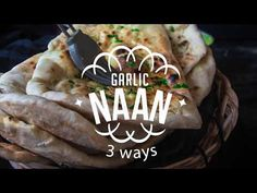 Restaurant Style Indian Garlic Naan - 3 Ways. What can be done to get that restaurant style garlic naan? In today's recipe, I will show you 3 simple ways of making naan at home without tandoor (clay oven).
