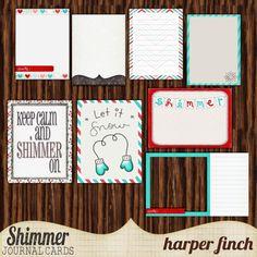 Harper Finch: Tuesday Shimmer freebies pt. 1