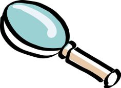 Magnifying Glass by bitterjug - Hand-drawn magnifying glass