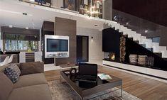 Compact Home Contemporary decor Contemporary Decor, Home Fashion, Sweet Home, Villa, Living Room, House Styles, Interior, Furniture, Home Decor